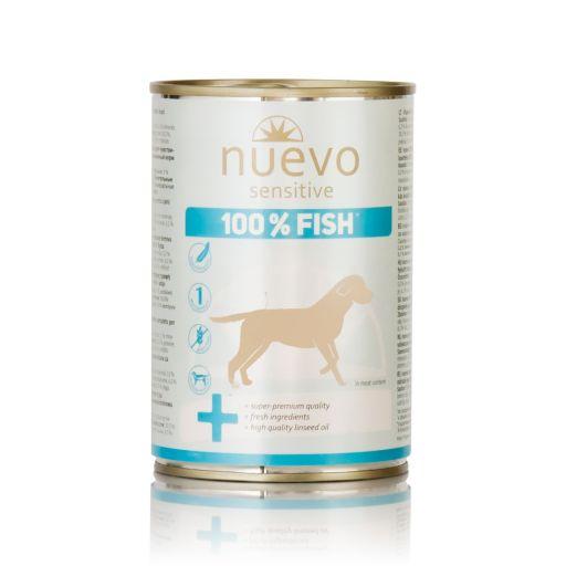 Nuevo - Cibo Per Cani - Pesce - Sensitive - 375gr.