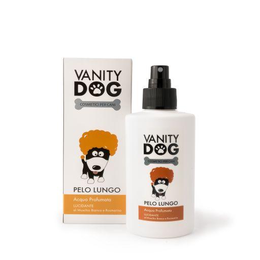 Vanity Dog - Spray Acqua Profumata Per Cani - Lucidante - Pelo Lungo - 100ml