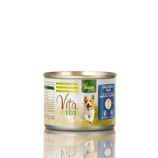 VitaVeg - Cibo Per Cani - Patè 100% Vegetale - 185gr.
