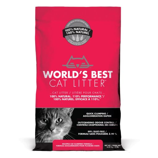 World's Best Cat Litter - Lettiera Vegetale Per Gatti - Extra Forte - 6.35kg