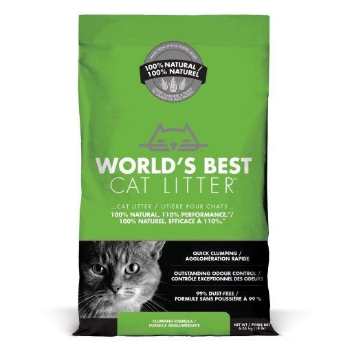 World's Best Cat Litter - Lettiera Vegetale Per Gatti - 6.35kg