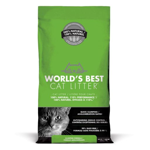 World's Best Cat Litter - Lettiera Vegetale Per Gatti - 3.18kg