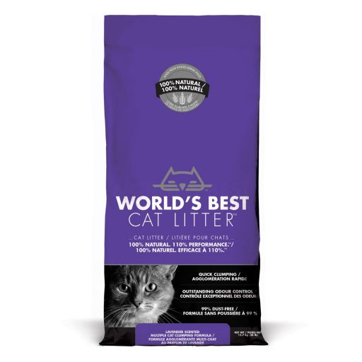 World's Best Cat Litter - Lettiera Vegetale Per Gatti - Lavanda - 12.7kg