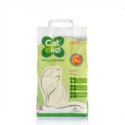 Cateko' - Lettiera Vegetale Ecologica Per Gatti - 6 Litri
