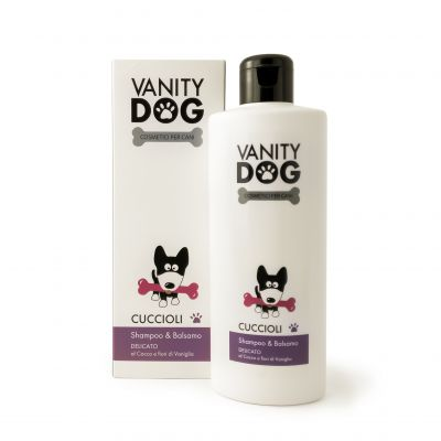 Vanity Dog - Shampoo & Balsamo Per Cani - Delicato - Cuccioli - 200ml