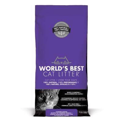 World's Best Cat Litter - Lettiera Vegetale Per Gatti - Lavanda - 12.7kg