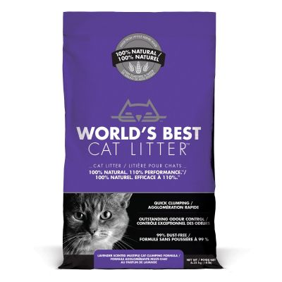 World's Best Cat Litter - Lettiera Vegetale Per Gatti - Lavanda - 6.35kg