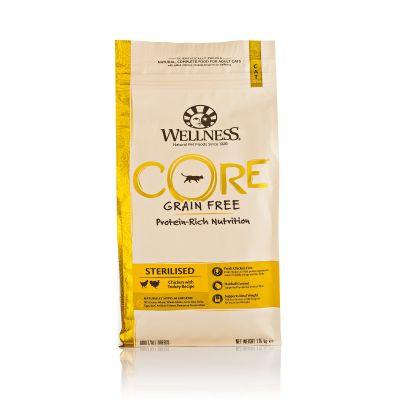Wellness CORE - Cibo Secco Per Gatti - Tacchino e Pollo - Sterilizzati - 1.75kg