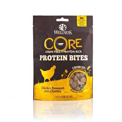 Wellness CORE - Snack Proteico Croccante Per Cani - Pollo e Ciliegie - 170gr