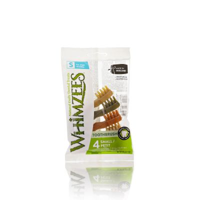 Whimzees - Snack Dentale - Spazzolino - Small - 4pz.