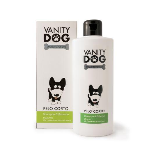 Vanity Dog - Shampoo & Balsamo Per Cani - Delicato - Pelo Corto - 200ml