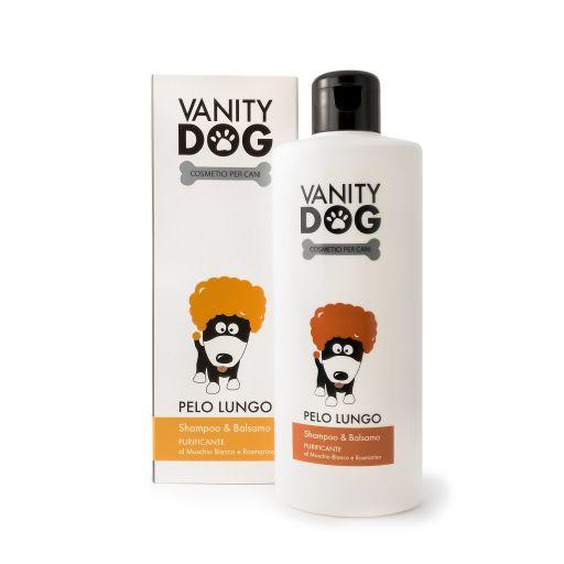 Vanity Dog - Shampoo & Balsamo Per Cani - Purificante - Pelo Lungo - 200ml