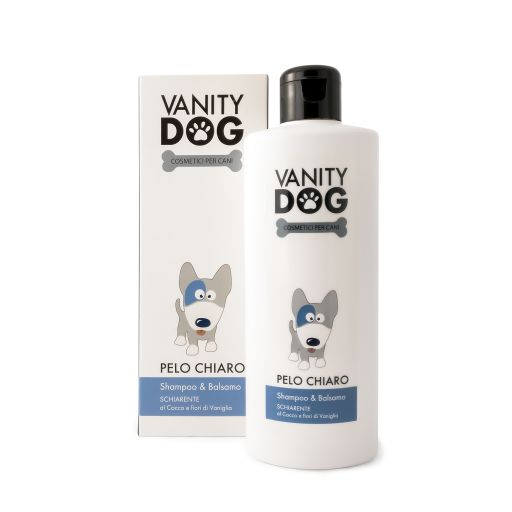 Vanity Dog - Shampoo & Balsamo Per Cani - Schiarente - Pelo Chiaro - 200ml