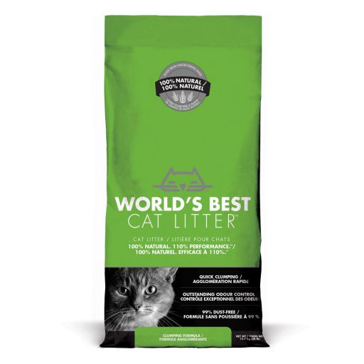 World's Best Cat Litter - Lettiera Vegetale Per Gatti - 12.7kg