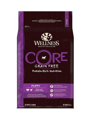 Wellness CORE - Cibo Secco Per Cani - Tacchino e Pollo - Cuccioli - 10kg