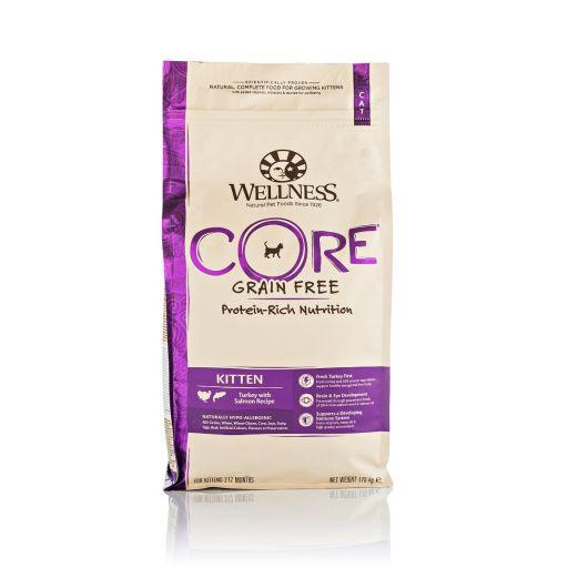 Wellness CORE - Cibo Secco Per Gatti - Tacchino + Salmone - Cuccioli - 1.75kg.