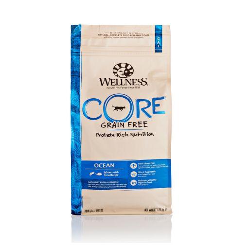 Wellness CORE - Cibo Secco Per Gatti - Salmone e Tonno - Adulti - 1.75kg