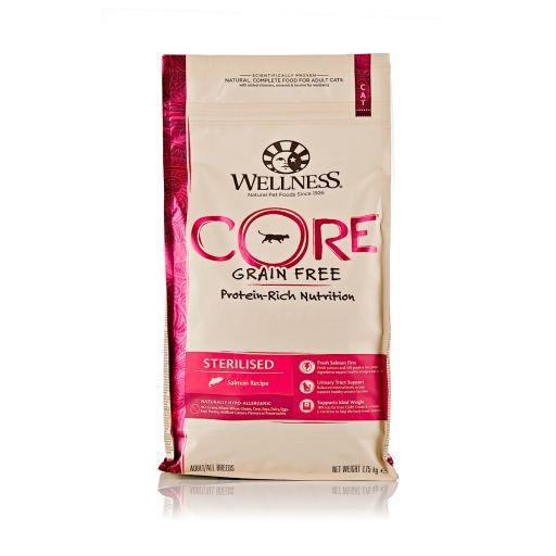 Wellness CORE - Cibo Secco Per Gatti - Salmone  - Sterilizzati - 1.75kg