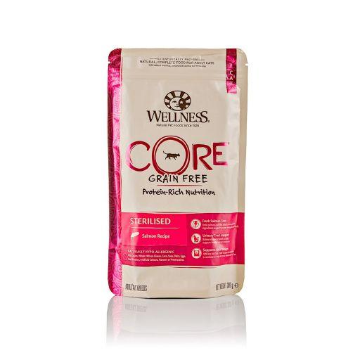 Wellness CORE - Cibo Secco Per Gatti - Salmone  - Sterilizzati - 300gr.