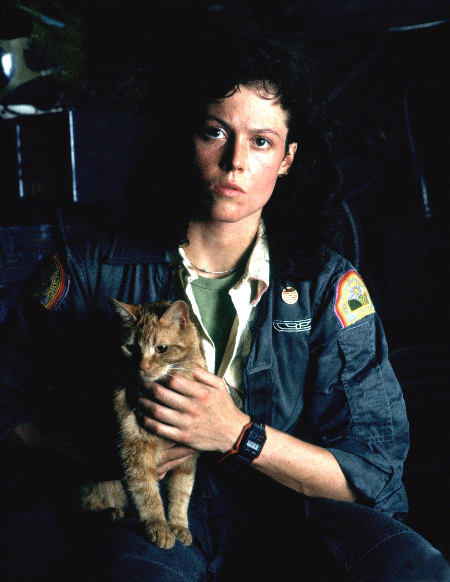 Jonesy e Ripley, Alien (1979)