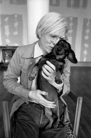 Andy Warhol with Archie
