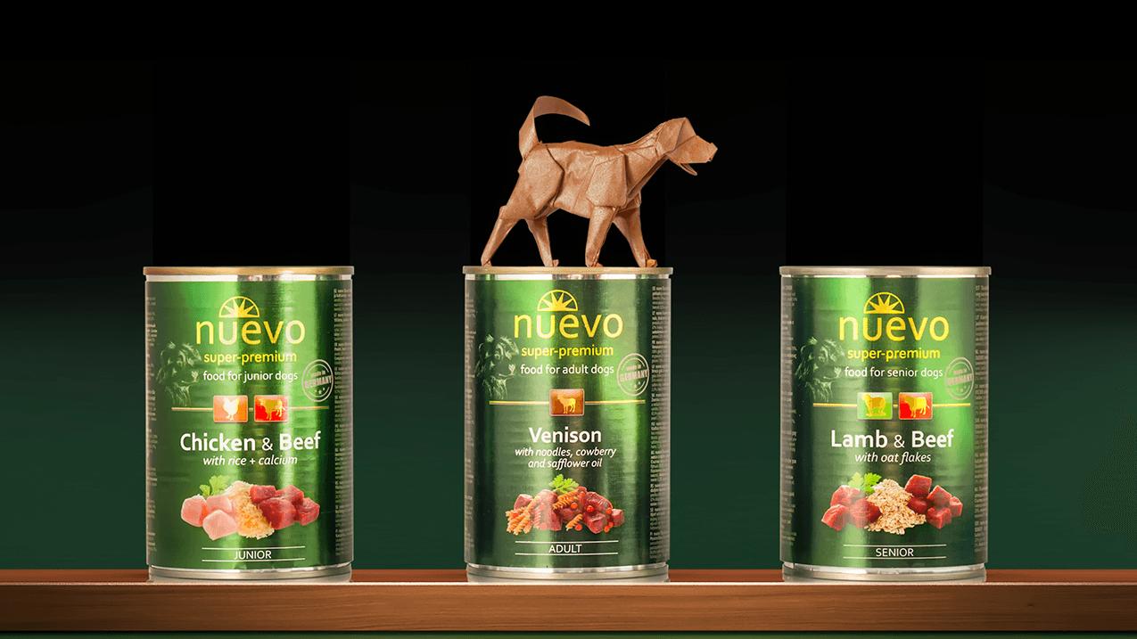 Nuevo - Cibo Umido per Cani
