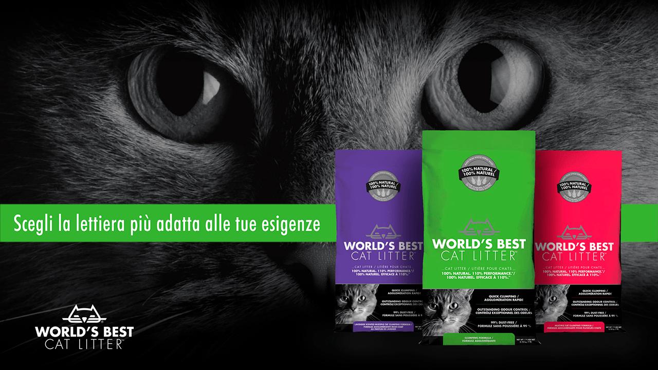 World's Best Cat Litter - Lettiera Vegetale Per Gatti